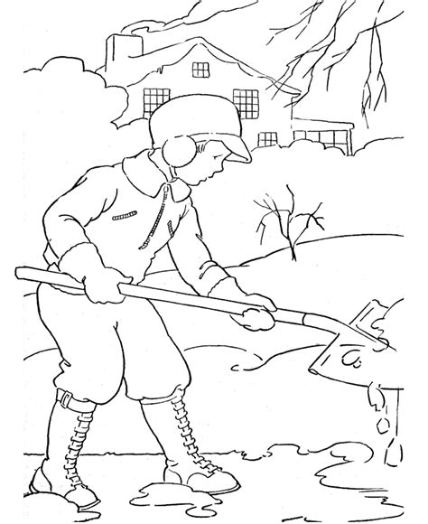 Free Printable Winter Coloring Pages For Kids Coloring Pages Of Winter