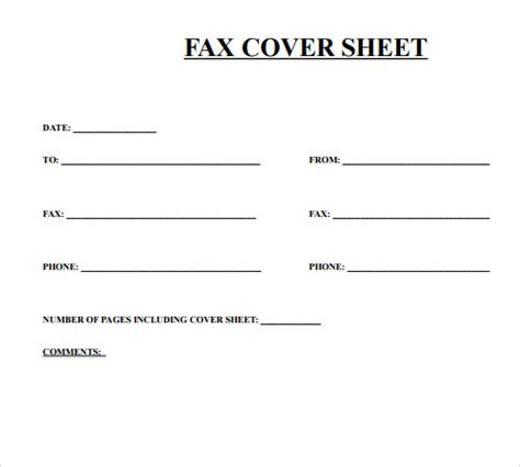 cute printable fax cover sheets fax cover sheet template 28 download free documents in