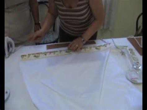 come confezionare un cuscino realizzazione lenzuolino