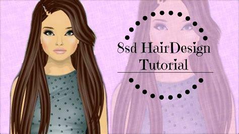 tutorial hair design stardoll stardoll 8sd hair design tutorial cheap easy long hair
