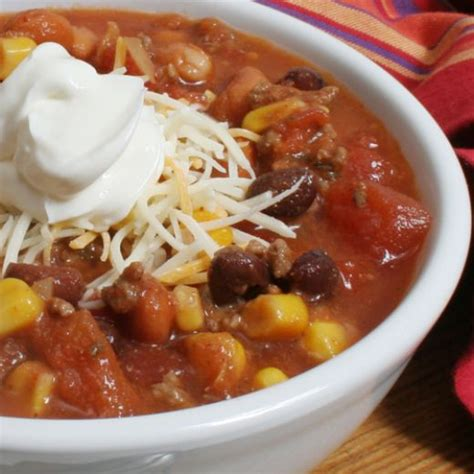 delicious taco soup recipe