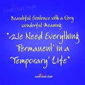 beautiful meaning beautiful sentence with wonderful meaning life quote