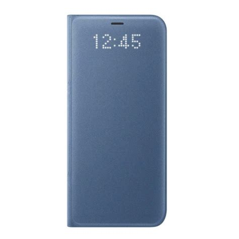 Leather Stitching Premium For Samsung S8 Plus Handphone new genuine samsung galaxy s8 plus led view flip cover card wallet blue ebay