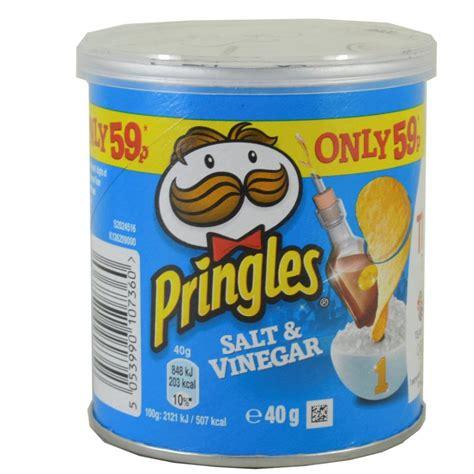Pringles Salt Vinegar pringles salt and vinegar 40g approved food