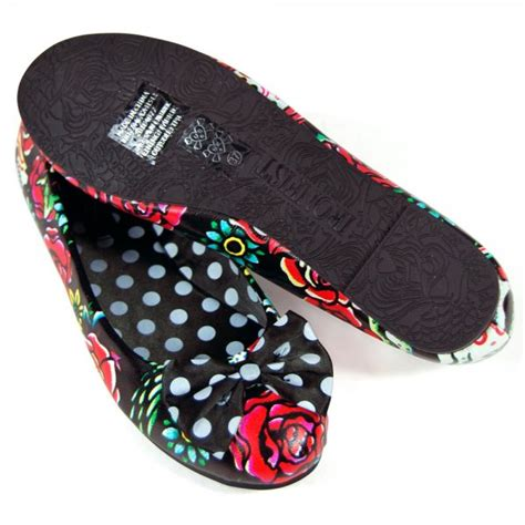 iron flat shoes iron hooters flat shoes black