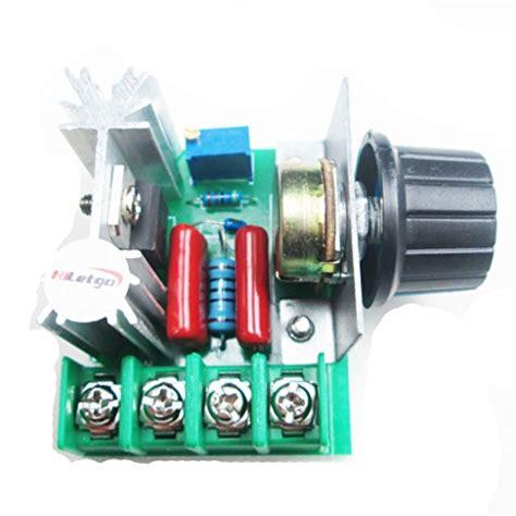 Led Motor Ac hiletgo led bulbs pwm ac motor speed controller 2000w adjustable voltage ebay
