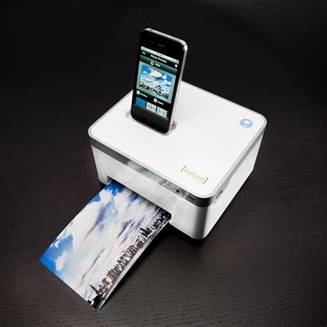 iphone printer compact cube photo printer for iphone 187 petagadget