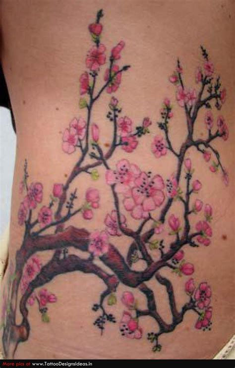 tattoo flower tree japanese flower tattoos tatto design of cherry blossom