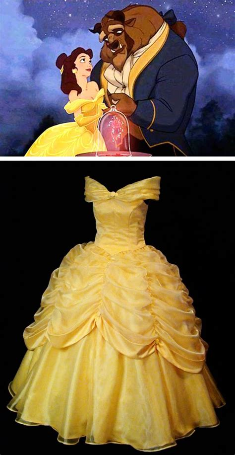 ten beauty and the beast dresses inspired by belle s beauty and the beast belle classic yellow gown disney