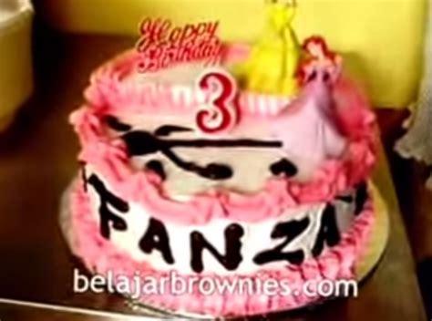 vidio membuat kue ulang tahun anak video cara membuat kue ulang tahun yang mudah kabar