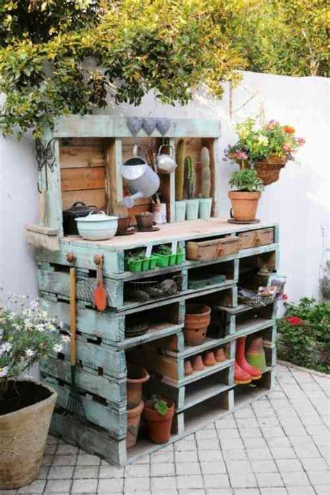 mobili giardino mobili da giardino fai da te in legno riciclato la figurina