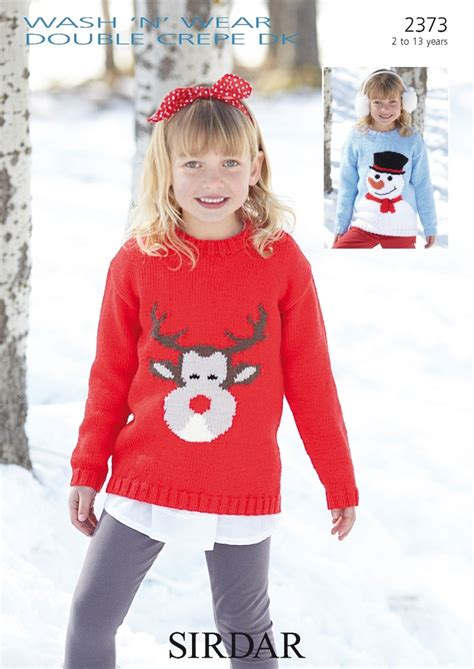 knitting pattern christmas jumper reindeer sirdar christmas jumper knitting patterns crochet and knit