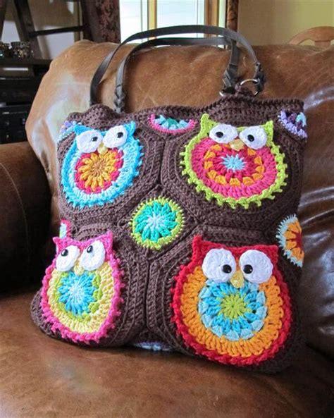 owl tote bag crochet pattern free diy crochet owl tote pattern 101 crochet