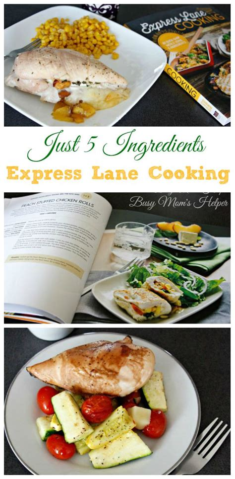 5 ingredients recipes for cooker be busy not hungry books just 5 ingredients for express cooking recipes busy
