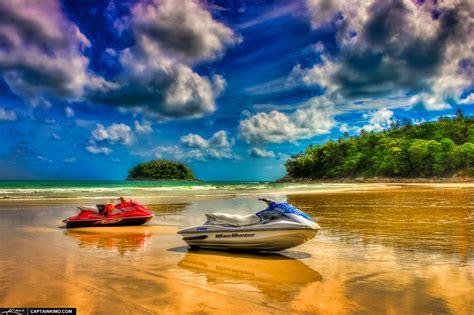wave runner jet ski  kata beach phuket thailand