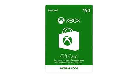 50 Dollar Xbox Gift Card - buy xbox digital gift card microsoft store