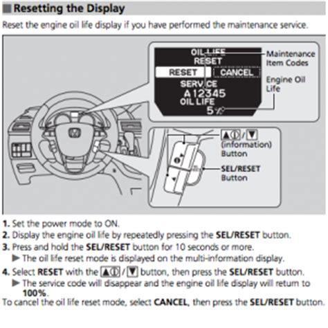 how to reset on honda odyssey 2005 reset service light indicator honda odyssey