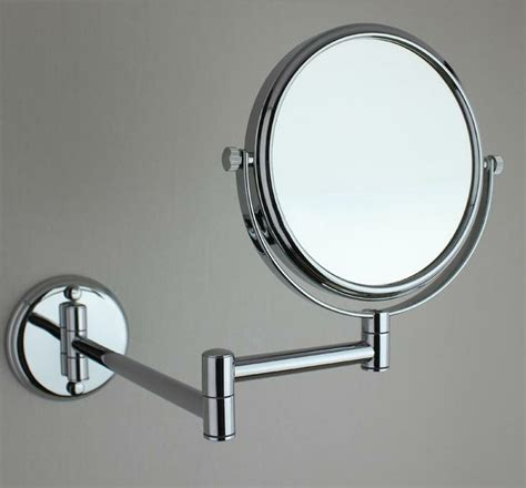 folding bathroom mirror bathroom shaving mirrors wall mounted image mag