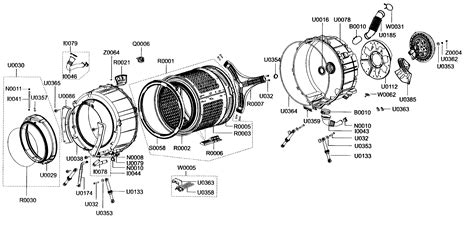 samsung washer parts tub drum assy diagram parts list for model wf338aawxaa samsung parts washer parts