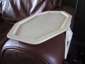 1950s bakelite armchair tray
