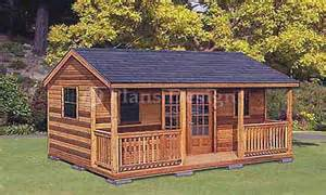 16 X 16 Cabin Floor Plans 16 X 16 Cabin Plans Shed Cabin Guest House Plans Cabin