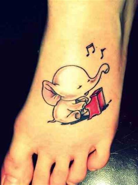 baby elephant tattoos design baby elephant on foot design of tattoosdesign of