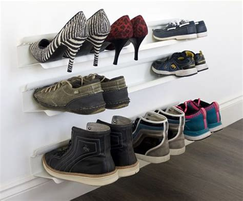 Sneaker Wall Rack by 17 Best Ideas About Wall Mounted Shoe Rack On