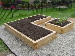 Ideas raised garden bed ideas garden ideas picture juniper wood raised