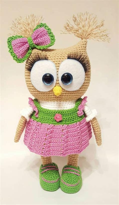 pattern amigurumi cute cute owl in dress amigurumi pattern amigurumi today