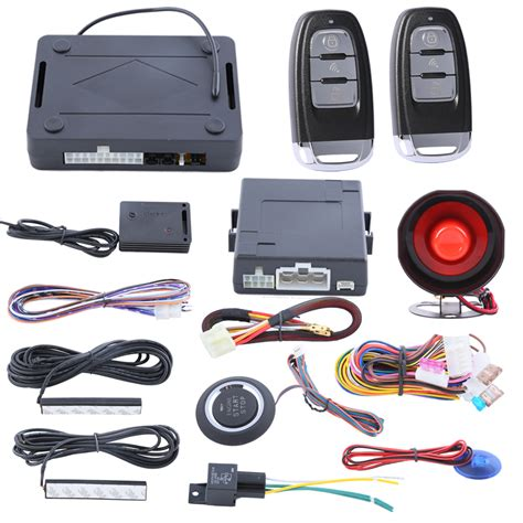 aliexpress buy smart key pke car security alarm system with passive keyless entry push