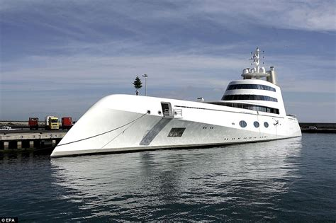 toy boat launched in scotland melnichenko puts motor yacht a up for sale daily mail online