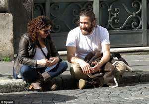 film everest rame ga jake gyllenhaal given tour of rome as he starts shooting