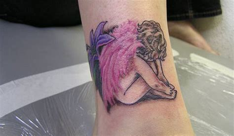 tattoo design baby angel tattoo designs