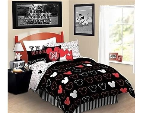 mickey bed disney mickey sheet set mouse love bed sheets full size