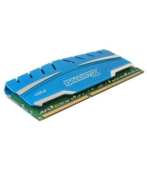 Ram Crucial 4gb crucial ballistix 4gb ddr3 desktop ram bls4g3d169ds3j buy crucial ballistix 4gb ddr3 desktop