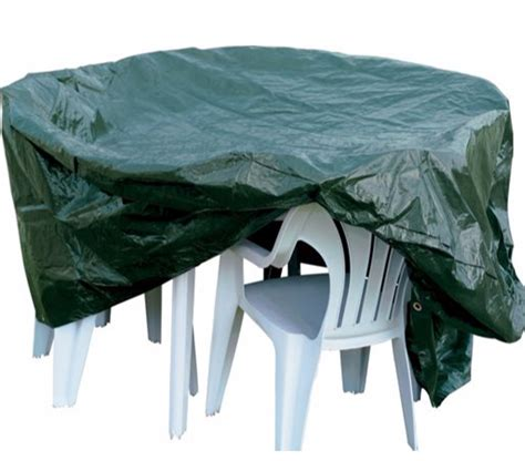 Patio Table Protector Outdoor Garden Furniture Waterproof Cover Table