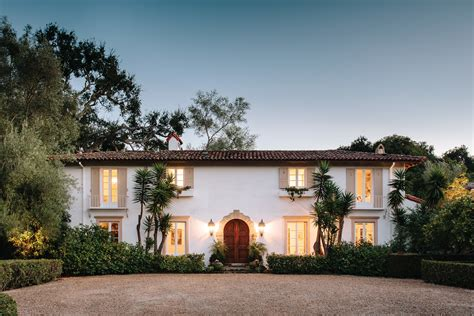 spanish colonial homes spanish colonial style santa barbara architectural digest