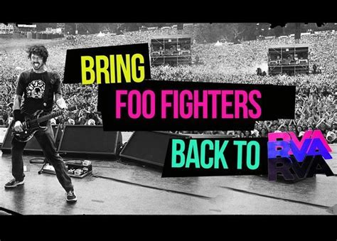 foo richmond fans crowdfund unscheduled foo fighters concert band agrees to play zumic free