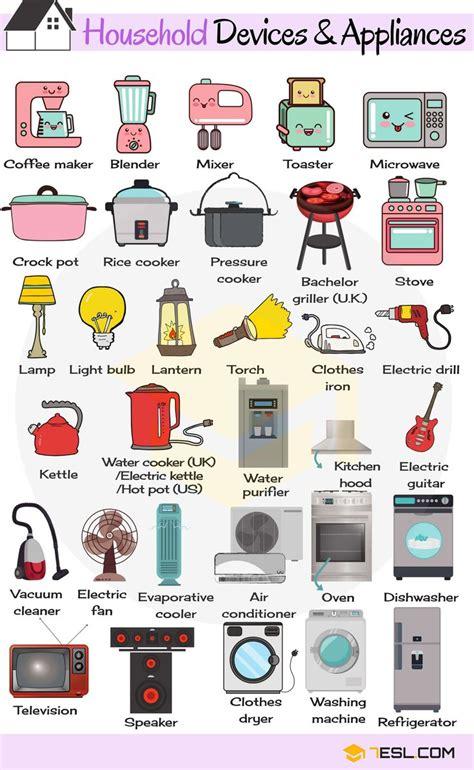 household appliances  home appliances list