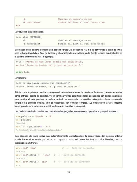tutorial python indonesia pdf el tutorial de python monografias com