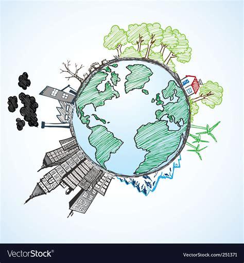 doodle earth earth doodle vector world vectors 251371