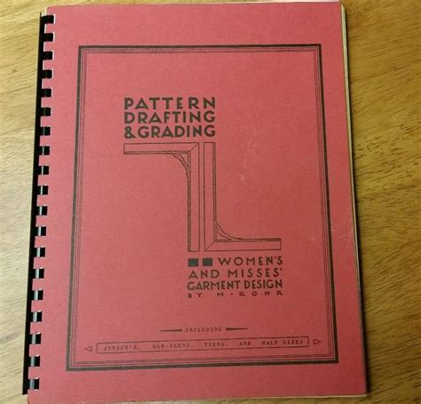 pattern drafting grading 132 best images about books vintage sewing fashion