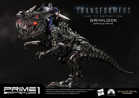 Blueprint Creator Free grimlock amp optimus prime statues from transformers age of