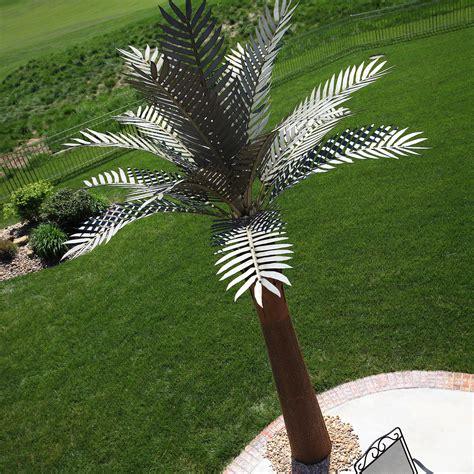 metal palm tree l palm tree desert steel touch of modern