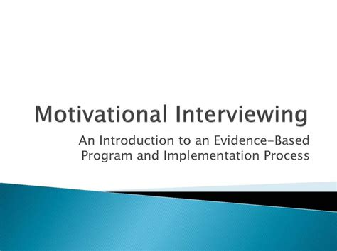 Mip Mba Motivational Questions by Motivational Interviewing Questions Ideal Vistalist Co