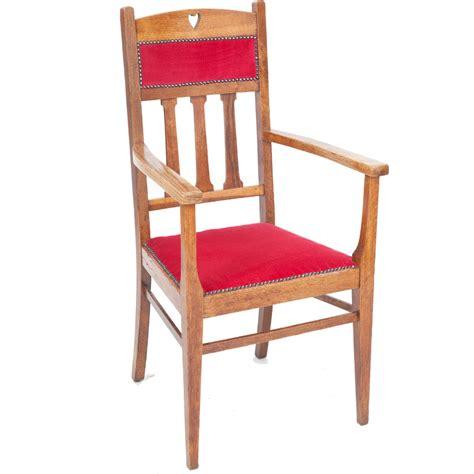 oak armchairs arts crafts armchair the unique seat company