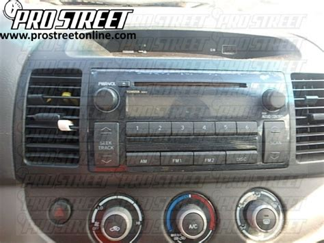 toyota camry stereo wiring diagram  pro street