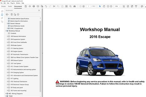 service manual motor repair manual 2013 ford edge free book repair manuals ford fusion 2015 ford escape 2013 2016 factory repair manual