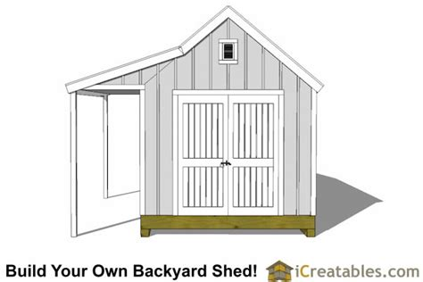 Cape Cod Shed Plans by 10x16 Cape Cod Shed Plans With Porch