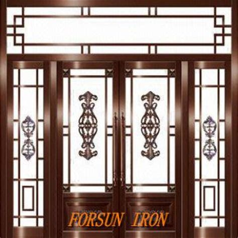 Home Design Windows And Doors by Wrought Iron Door Iron Door Window Grill Design Villa